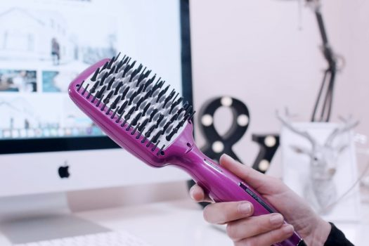 Straight Hair with Babyliss Brush