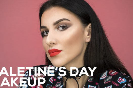 Valentine's Day make-up
