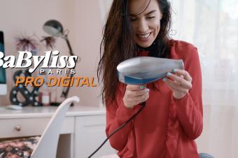 My new gadget: Pro Digital Hair Dryer